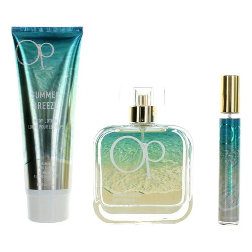 OP Summer Breeze by Ocean Pacific, 3 Piece Gift Set for Women