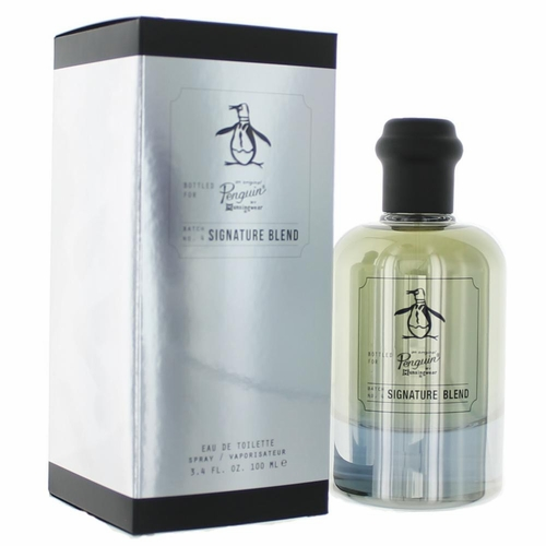 Orginal Penguin Signature Blend by Munsingwear, 3.4 oz Eau De Toilette Spray for Men