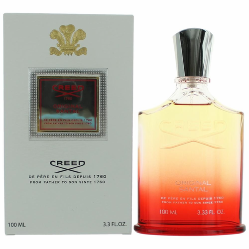 Original Santal by Creed, 3.3 oz Millesime Eau De Parfum Spray for Unisex