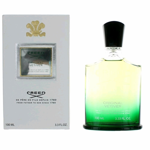 Original Vetiver by Creed, 3.3 oz Millesime Eau De Parfum Spray for Men