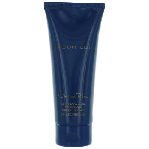 Oscar Pour Lui by Oscar De La Renta, 6.7 oz Hair and Body Wash for Men