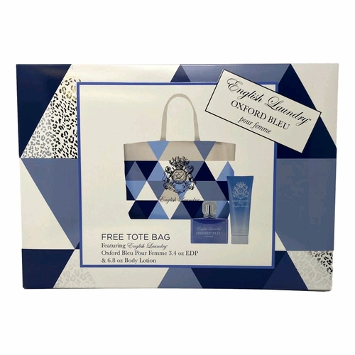 Oxford Bleu Femme by English Laundry, 3 Piece Gift Set for Women with Bag