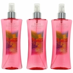 Paradise Fantasy by Body Fantasies, 3 Pack 8 oz Fragrance Body Spray for Women