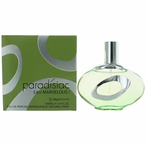 Paradisiac Eau Marvelous by NuParfums, 3.4 oz Eau De Parfum Spray for Women