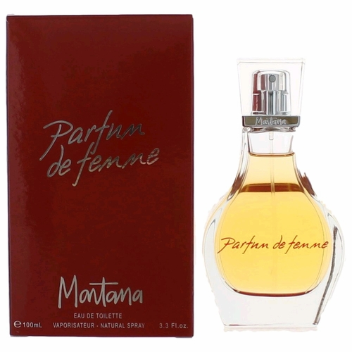 Parfum de Femme by Montana, 3.3 oz Eau De Toilette Spray for Women