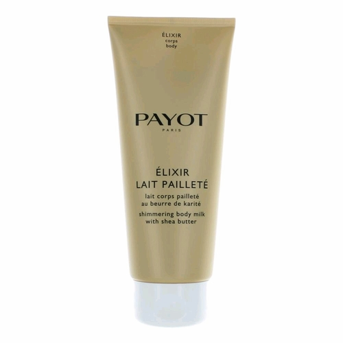 Payot Elixir Lait Paillete by Payot, 6.7 oz Shimmering Body Milk with Shea Butter for Women