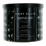 Perry Ellis 14.5 oz Soy Wax Blend 3 Wick Candle - Midnight