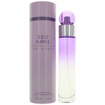 Perry Ellis 360 Purple by Perry Ellis, 3.4 oz Eau De Parfum Spray for Women