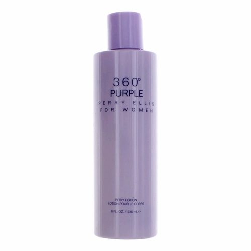 Perry Ellis 360 Purple by Perry Ellis, 8 oz Body Lotion for Women
