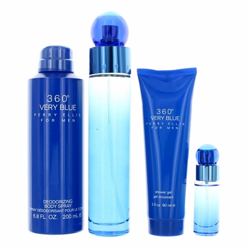 Perry Ellis 360 Very Blue Free Shipping The Perfume Spot