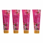 Pink Vanilla Wish by Bodycology, 4 Pack 8 oz Moisturizing Body Cream for Women