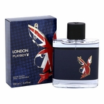 Playboy London by Coty, 3.4 oz Eau De Toilette Spray for Men