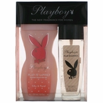 Playboy Play It Lovely by Coty, 2 Piece Gift Set for Women