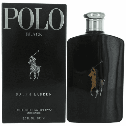 Polo Black by Ralph Lauren, 6.7 oz Eau De Toilette Spray for Men