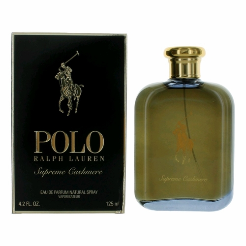 Polo Supreme Cashmere by Ralph Lauren, 4.2 oz Eau De Parfum Spray for Men