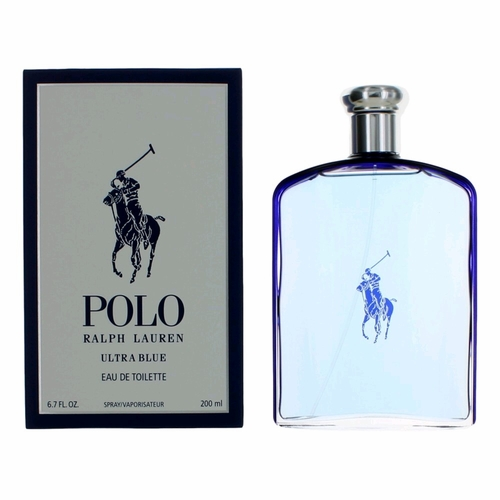 Polo Ultra Blue by Ralph Lauren, 6.7 oz Eau De Toilette Spray for Men