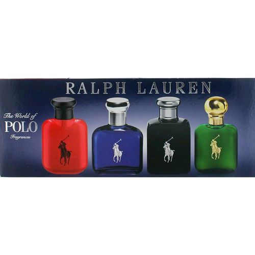 Polo Variety by Ralph Lauren, 4 Piece Gift Set for Men