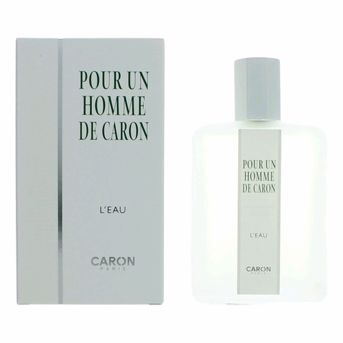 Pour Un Homme De Caron L'Eau by Caron, 4.2 oz Eau De Toilette Spray for Men