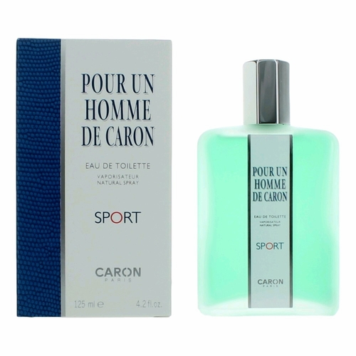 Pour Un Homme de Caron Sport by Caron, 4.2 oz Eau De Toilette Spray for Men