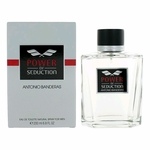 Power Of Seduction by Antonio Banderas, 6.8 oz Eau De Toilette Spray for Men