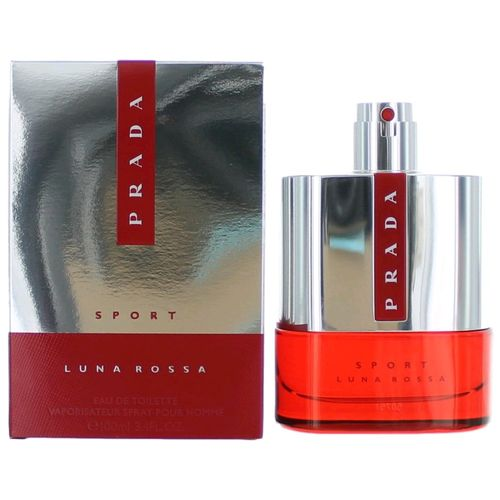 Prada Luna Rossa Sport by Prada, 3.4 oz Eau De Toilette Spray for Men