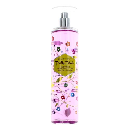 Pretty Petals by Ellen Tracy, 8 oz Body Mist for Women
