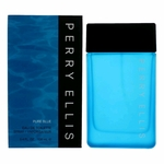 Pure Blue by Perry Ellis, 3.4 oz Eau De Toilette Spray for Men
