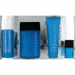 Pure Blue by Perry Ellis, 4 Piece Gift Set for Men
