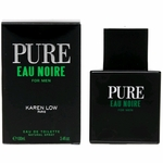 Pure Eau Noire by Karen Low, 3.4 oz Eau De Toilette Spray for Men