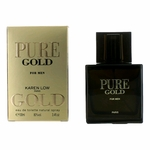 Pure Gold by Karen Low, 3.4 oz Eau De Toilette Spray for Men