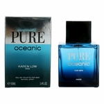 Pure Oceanic by Karen Low, 3.4 oz Eau de Toilette Spray for Men