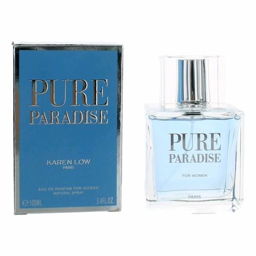 Pure Paradise by Karen Low, 3.4 oz Eau de Parfum Spray for Women