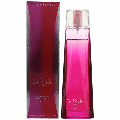 Pure Sensation In Pink by Karen Low, 3.4 oz Eau De Parfum Spray for Women