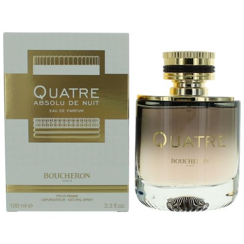 Quatre Absolu De Nuit by Boucheron, 3.3 oz Eau De Parfum Spray for Women