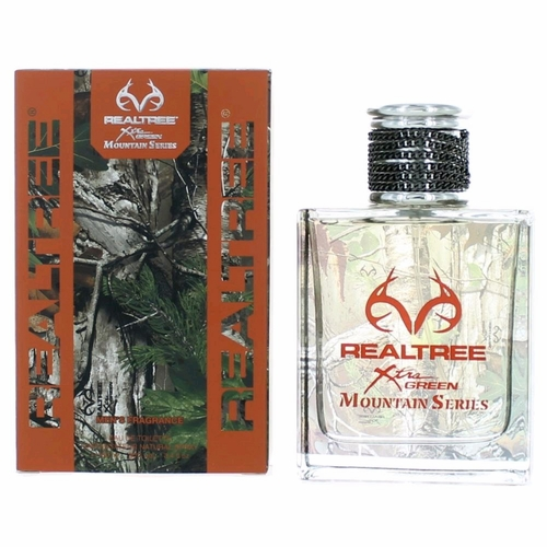Realtree Mountain Series by Realtree, 3.4 oz Eau De Toilette Spray for Men