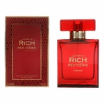 Rich Red Icone by Johan.b, 3 oz Eau De Toilette Spray for Men