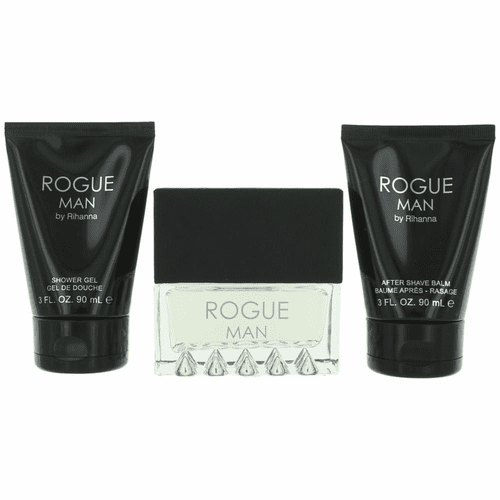 Rogue by Rihanna, 3 Piece Gift Set for Men