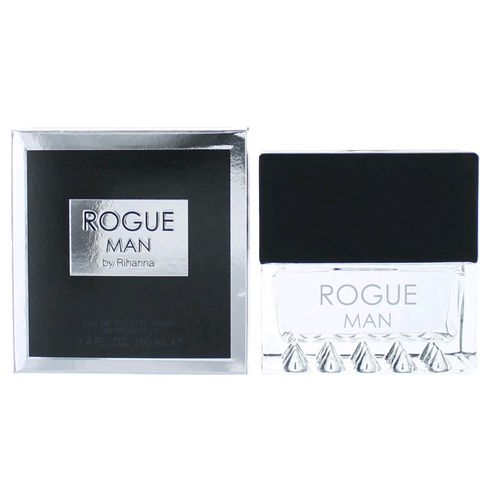 Rogue Man by Rihanna, 3.4 oz Eau De Toilette Spray for Men