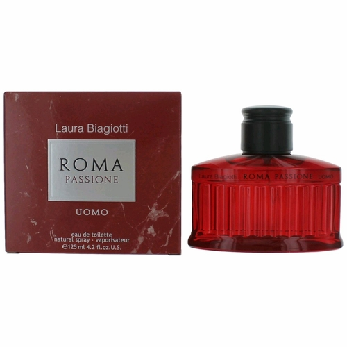 Roma Passione Uomo by Laura Biagiotti, 4.2 oz Eau De Toilette Spray for Men
