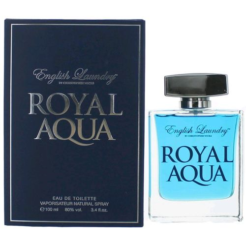 Royal Aqua by English Laundry, 3.4 oz Eau De Toilette Spray for Men