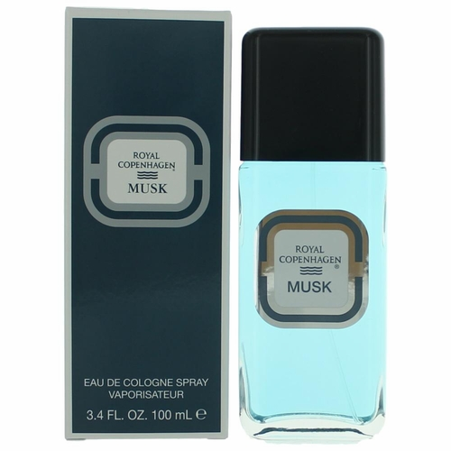 Royal Copenhagen MUSK by Royal Copenhagen, 3.3 oz Cologne Spray for Men