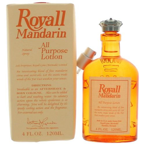 Royall Mandarin by Royall Fragrances, 4 oz All Purpose Lotion for Men