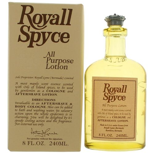 Royall Spyce by Royall Fragrances, 8 oz All Purpose Lotion for Men