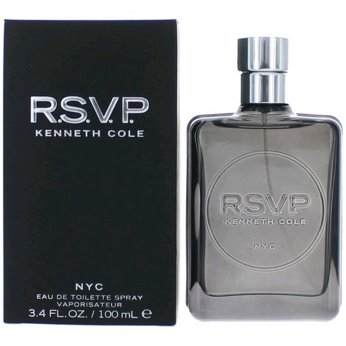 RSVP by Kenneth Cole, 3.4 oz Eau De Toilette Spray for Men