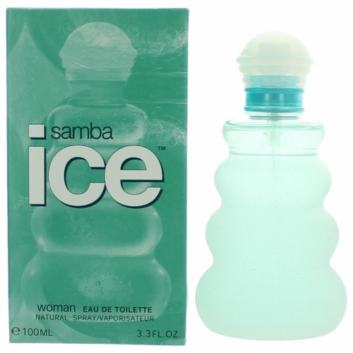 Samba Ice by Perfumer's Workshop, 3.3 oz Eau De Toilette Spray for Women