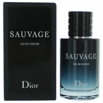 Sauvage by Christian Dior, 2 oz Eau De Parfum Spray for Men