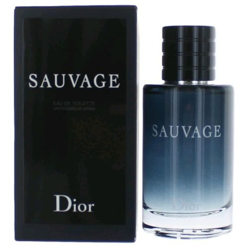 Sauvage by Christian Dior, 2 oz Eau De Toilette Spray for Men