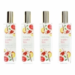 Scarlet Kiss by Bodycology, 4 Pack 8 oz Fragrance Mist for Women