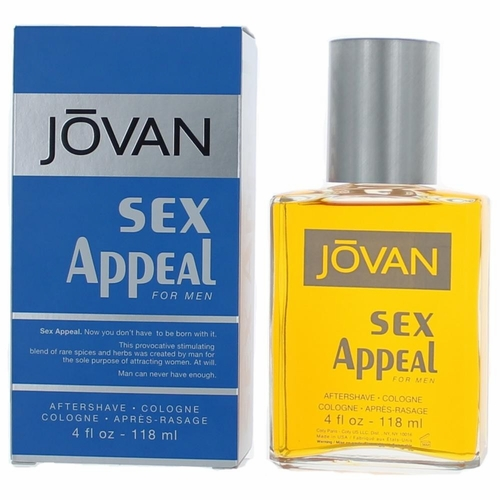 Sex Appeal Jovan by Coty, 4 oz After Shave Cologne for men
