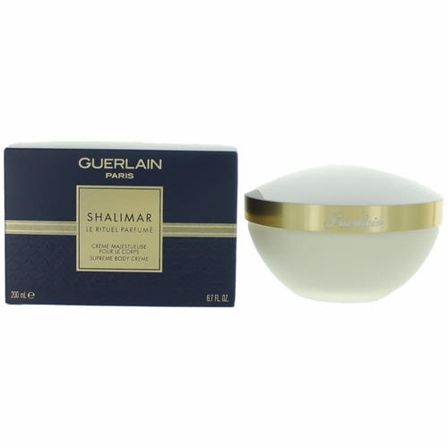 Shalimar by Guerlain, 6.7 oz Supreme Body Creme for Women (Jar)